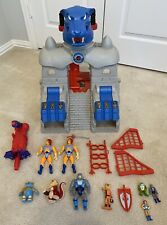 Vintage Original LJN Thundercats Cats Lair Playset with Tons of Extras Figures