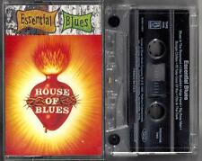 HOUSE OF BLUES / ESSENTIAL BLUES - Various Artists - Cassette (1995)