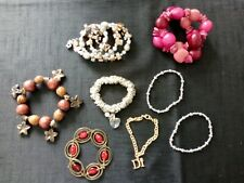 Costume Jewellery Job Lot Bracelets