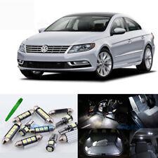 14X white Error free Interior LED Light Kit for Volkswagen Passat CC 2009-2014 p