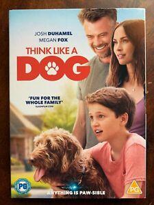 Think Like a Dog DVD 2019 Family Movie w/ Megan Fox + Josh Duhamel + Slipcover