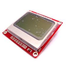 Nokia 5110 Arduino 84x48 Dot Matrix LCD Module White Backlight Adapter PCB