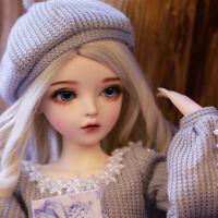 Weihnachtsgeschenk Mädchen 1/3 BJD Doll Puppe mit veränderbaren Augen Kleidung