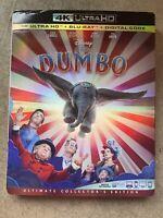 Dumbo 4K Ultra HD, Blu Ray & Digital Ultimate Collector's Edition (2019) Slip