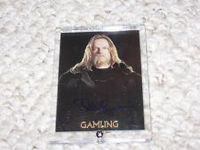 Lord of the Rings Gamling Bruce Hopkins Authentic NM Autograph Trilogy