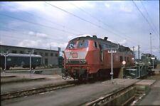 Originaldia DB 218 328 taught 22.6.1989