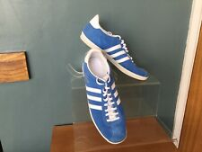 ADIDAS GAZELLE LIGHT BLUE SUEDE TRAINERS SIZE 10...
