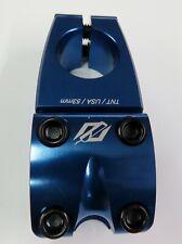 BMX Bike TNT Stem Top Load Blue 53 mm 1 1/8 in Threadless