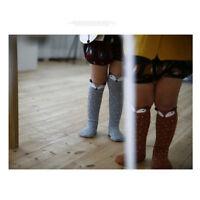 Baby Kids Toddlers  Girls Knee High Socks Tights Leg Warmer Stockings