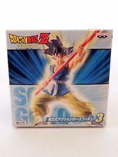 Dragon Ball Z DBZ Action Pose Figure 3 SON GOKU GOKOU Banpresto Japan Anime NEW