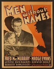 Men Without Names 1935 DVD Fred MacMurray, Madge Evans, Grant Mitchell