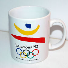 Official Olympic Coffee Mug / Barcelona 1992 / Drinking Cup