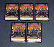 Lot of (5) World of Warcraft WoW TCG Warchief Thrall Heroes Azeroth - Ally Epic