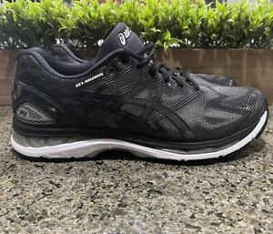 Asics Gel-Nimbus 19 4E Running Shoes T702N.9099 Black/Onyx/Silver Men's Size 10