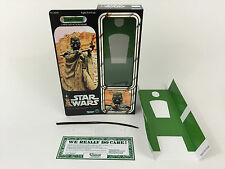 "Custom Vintage Star Wars 12"" TUSKEN RAIDER Sandleute Box + Beilagen"