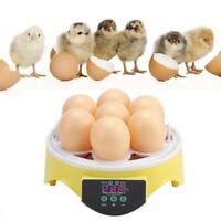 7 huevos Pollos inteligentes Incubadora de control de temperatura inteligente