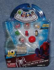 SQUINKIES MARVEL THE AMAZING SPIDER-MAN MOVIE EDITION SET