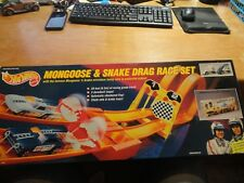 Hot Wheels 25th Anniversary Snake & Mongoose Drag Race Set NOS
