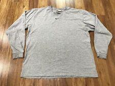 New listing Medium - Vtg Nike Center Swoosh Mini Long Sleeve T-Shirt