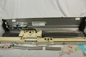 Vintage Empisal Knitmaster 700 Knitting Machine + Accessories Table Top Knit