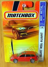 Matchbox Audi RS6 Avant Wagon [Red] Quattro - New/Sealed/RARE