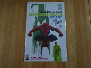 RARE COPY OF SPIDER-MAN: BLUE #1 COMIC BOOK! SIGNED BY JOHN ROMITA SR. W/ COA!