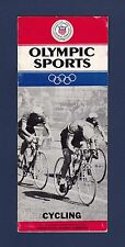 Olympic Sports Cycling 1960's Handbook