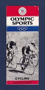 Olympic Sports Cycling 1960's Handbook