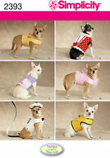 Simplicity Sewing Pattern 2393 OS Dog Coat