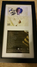 KRIZZ KALIKO GENIUS SIGNED AUTOGRAPHED FRAMED CD DISPLAY #B