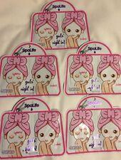 SpaLife 2pk Girls Night In Face Facial Mask Lavender BULK LOT of 5 Bridal Gift