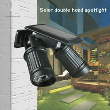 Solar Wall Motion Sensor Lights Outdoor Home Security Waterproof for Outside