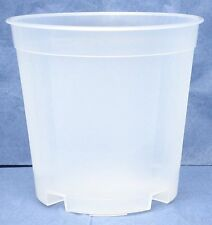 Clear Plastic Pot for Orchids 5 1/2 inch Diameter Tall Pot - Quantity 4