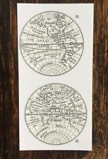 Waterslide  Continent Transfers for  Antique Longcase Clocks