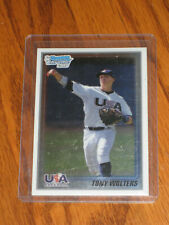 2 Tony Wolters 2010 Bowman Chrome #USA20 National Team Rookie Cards One is /500