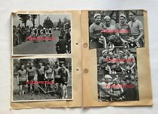 RC Herpersdorf, 5 alte Pressefotos Radsport, vom 14.5.1950