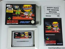 Daffy Duck - The Marvin Missions - Super Nintendo - SNes