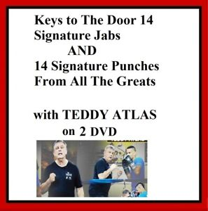 14 signature punches of the greats & 14 signature jabs on DVD boxing teddy atlas