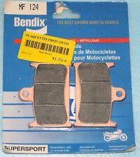 2 plaquette de frein Bendix TRIUMPH SPRINT ST GT 1050 TIGER ROCKET THUNDERBIRD