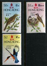Hong Kong 309-311, MNH, 1975 Birds. x6670