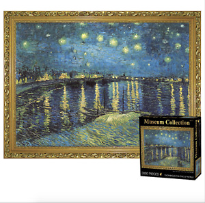 Museum Famous Painting Jigsaw Puzzle 3000 Pieces Over the Rhone-Vincent Van Gogh
