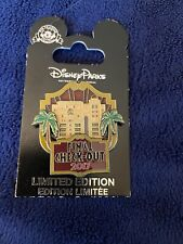 Disney Pin Tower of Terror Final Check-Out 2017 Limited Edition 5000