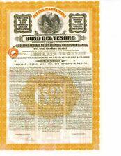 1913 Bono Del Tesoro de 1913 - Aka.Papaya Bond