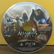 ASSASSIN'S CREED: BROTHERHOOD (PS3) USED AND REFURBISHED (DISC ONLY) #10921