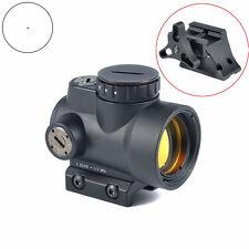 1x25 Adjustable Reflex MRO Red Dot Sight 2.0 MOA &High/Low Mounts F Rifle Scope