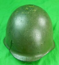 Vintage Soviet Russian Russia USSR Army Military Soldier Helmet w/ Liner