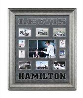 Lewis Hamilton Signed Framed F1 Mercedes Photo Autograph Display Memorabilia COA