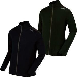 Regatta Mens Tunkin Merino Wool Thermal Base layer Top Full Zip Jacket RRP £50