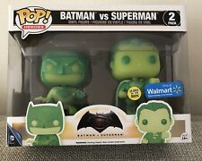 Funko Batman VS Superman 2 pack Pop Glow In The Dark Walmart