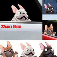 3D Cute Cartoon Dog Car-Styling Vehicle Window Decals Sticker Decoration 3 color